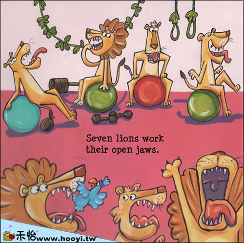 jungle gym (动物健身操)/触摸书